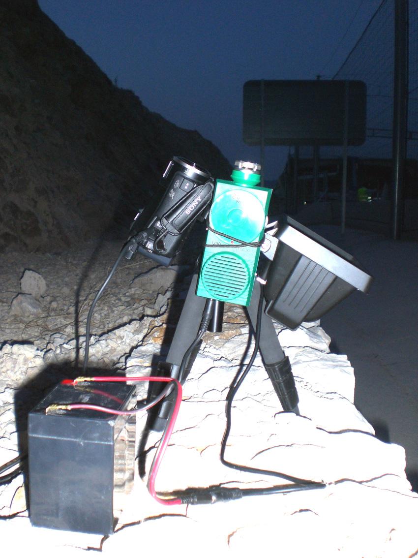 Grabación de vídeo IR-audio US para monitorización de actividad de murciélagos